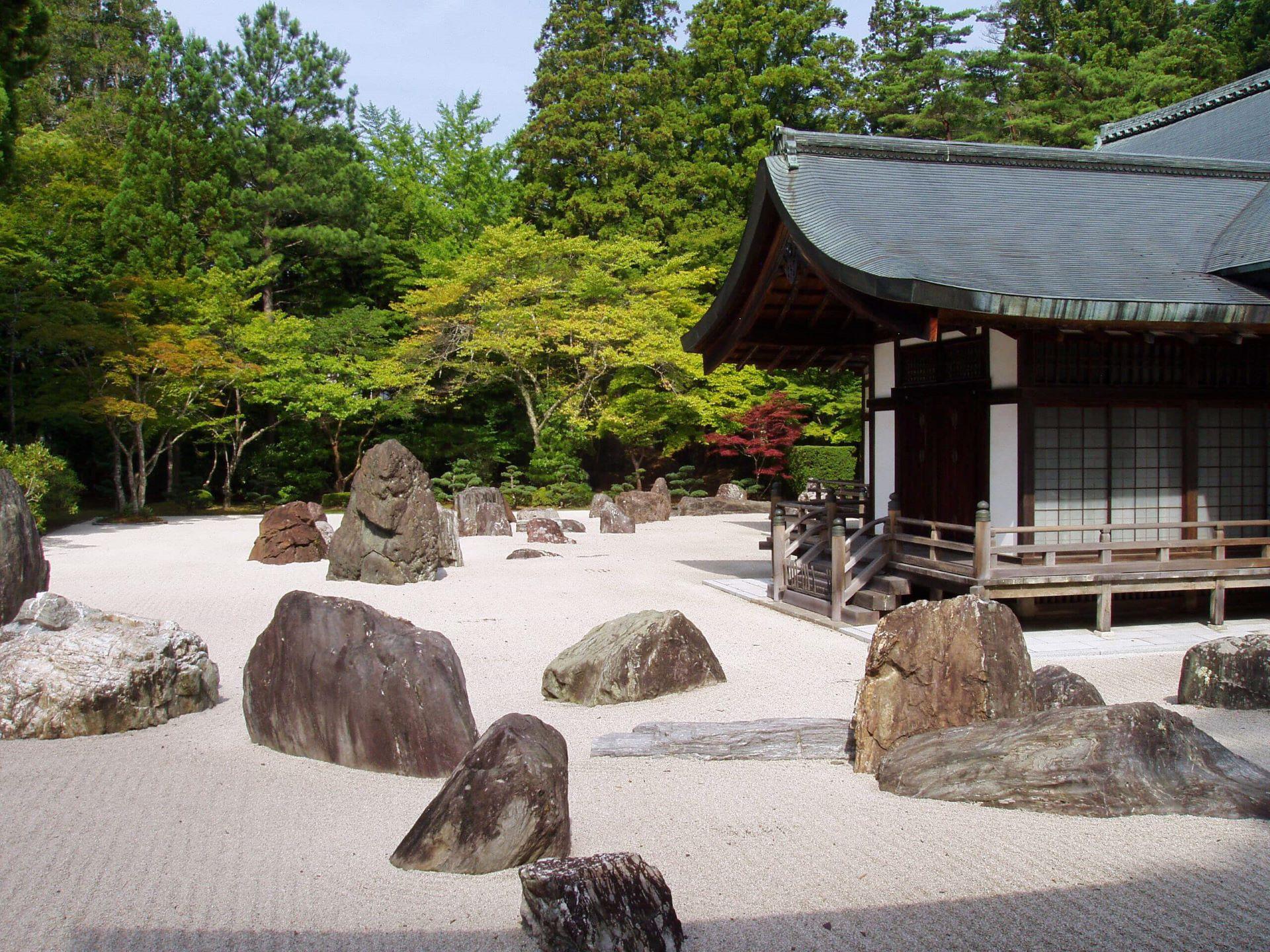Kongobuji templom ZEN KŐKERT - Japán, Kyosan