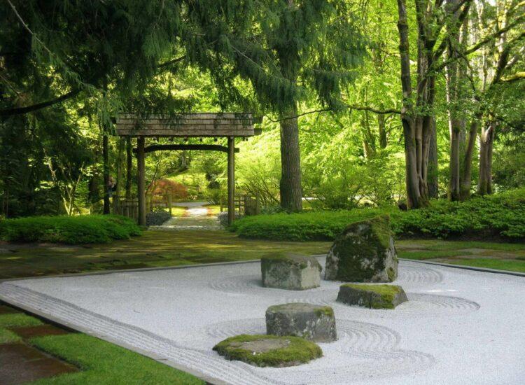 japán zen kőkert